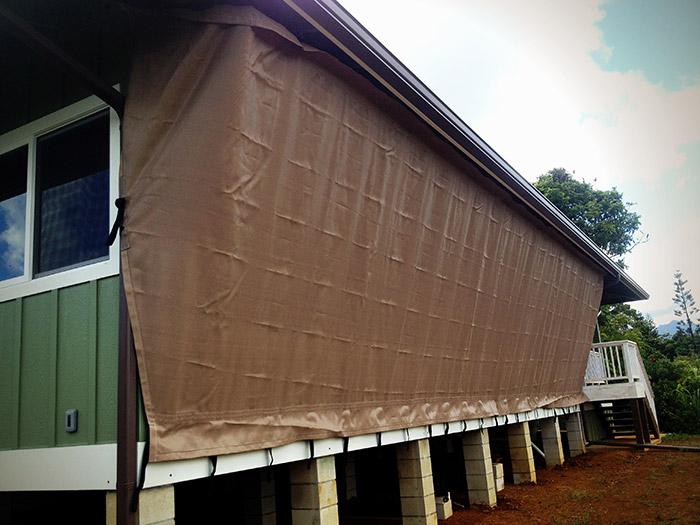 Hurricane Protection Screens in Kauai, Hawaii